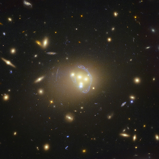 Dark Matter in Galaxy Cluster Abell 3827