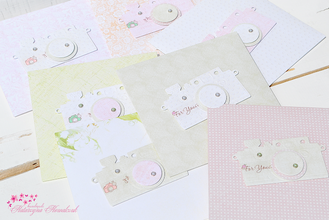 Folder na Płytę CD scrapbooking