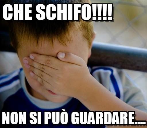 olasz szleng che schifo
