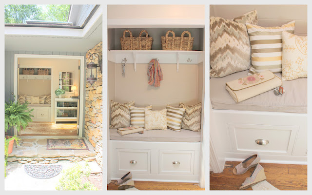 entry closet makeover