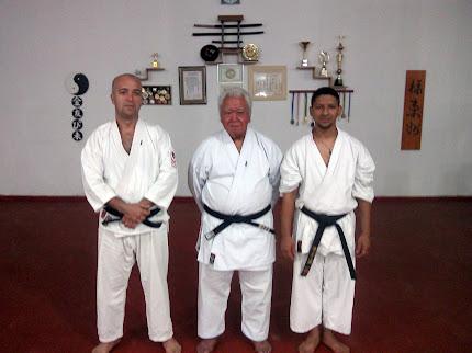 Nossos Mestres de Karatê Shotokan