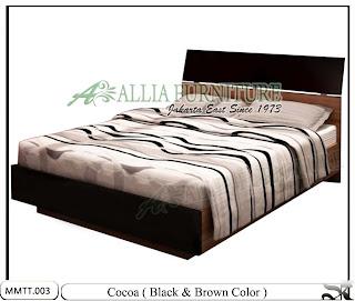 Tempat Tidur Modern Minimalis Terbaru Cocoa Black