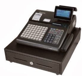 SAM4s SPS-345 cash register