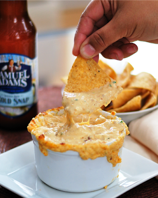 Warm Cheese & Beer Dip