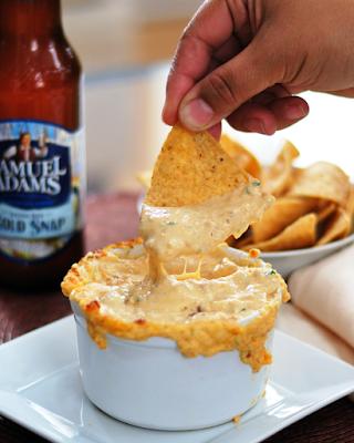 Warm Cheese & Beer Dip