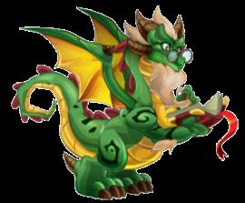imagen del dragon dia libro de dragon city