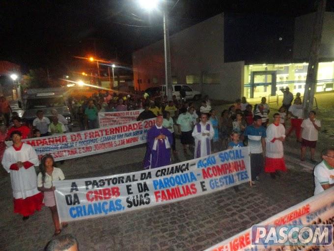 ABERTURA DA CF 2015 E CELEBRAÇÃO DOS 253 ANOS DA PARÓQUIA
