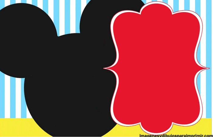 Mickey birthday cards-Images and pictures to print