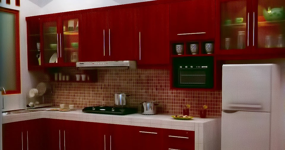 Kitchen set murah harga kitchen set mewah dengan harga murah for Kitchen set mewah