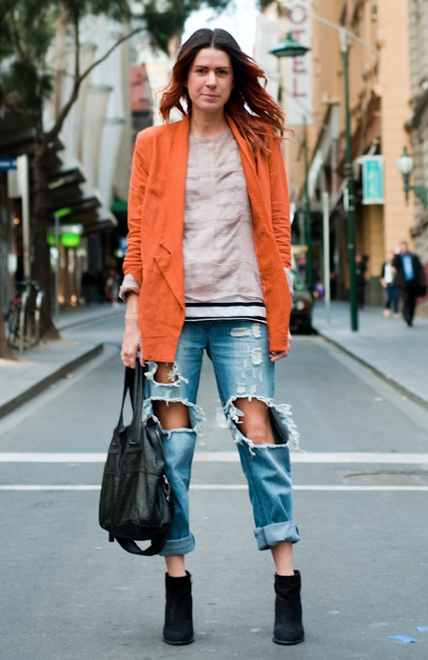 My Fashion Tricks Street Style Orange