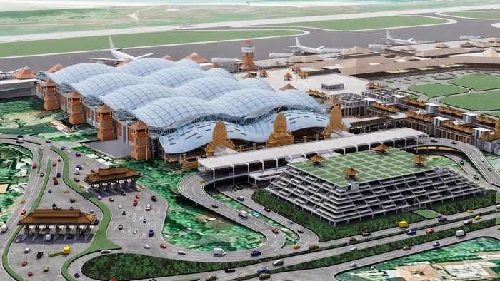 Ngurah Rai Airport Bali Indonesia