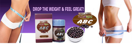 Abc Acaiberry Soft gel tubuh Langsing ideal Aman Pelangsing Badan Ampuh.