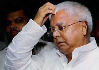 Rashtriya Janata Dal (RJD) leader Lalu Prasad