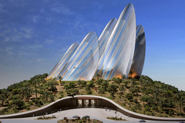 Modern Architectural Forms architecture of future ~ world amazing