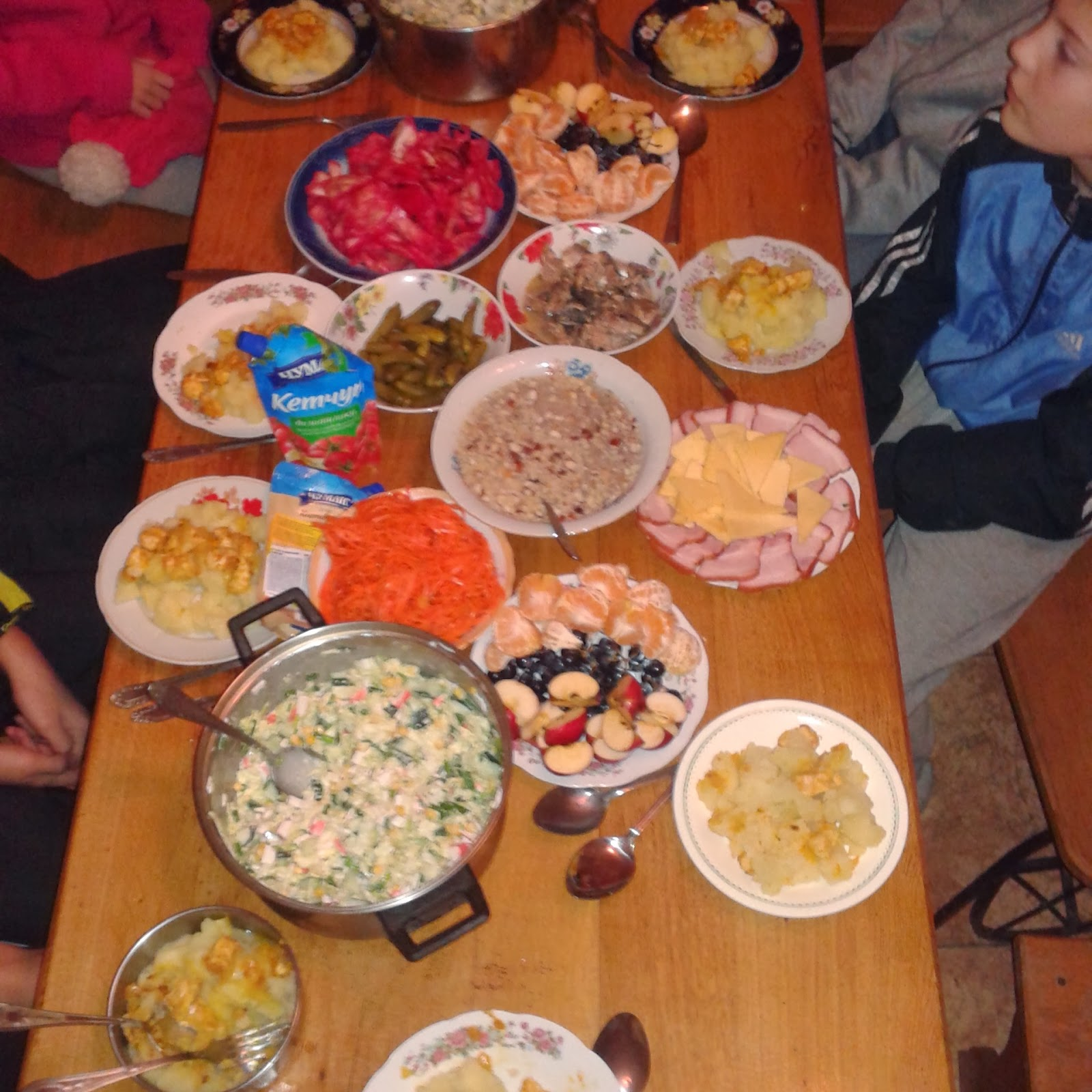 Різдвяна вечеря. Радиопеленгация (охота на лис, ARDF) и спортивное ориентирование в Виннице и не только :)
