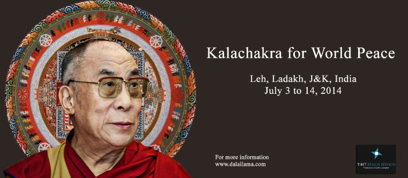 Initiation - Kalachakra - Leh - Ladakh - 3-14 july 2014.