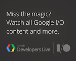 Google Developers Live at I/O