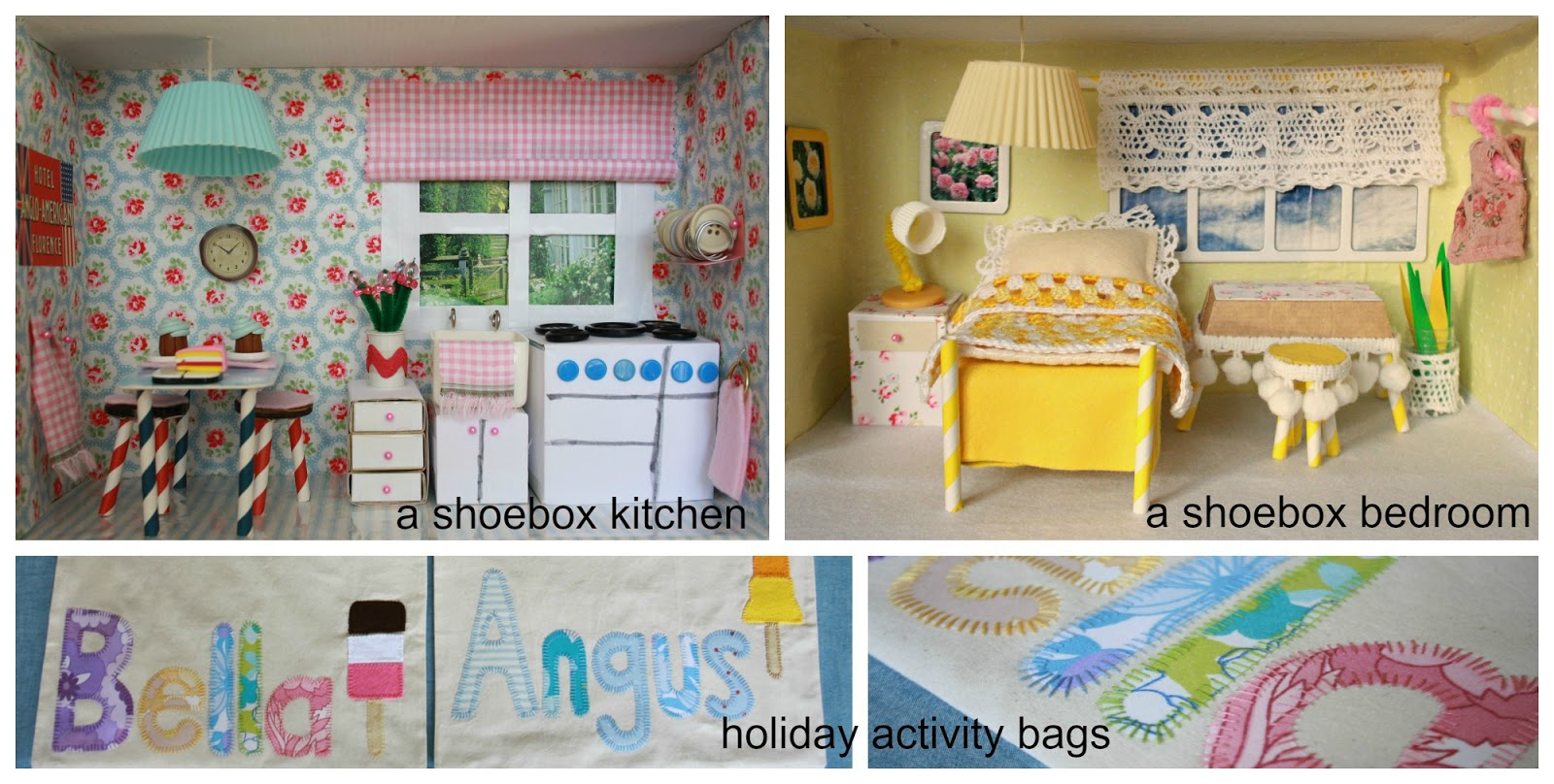 Shoebox Bedroom Tales From A Happy House Craft Projects
