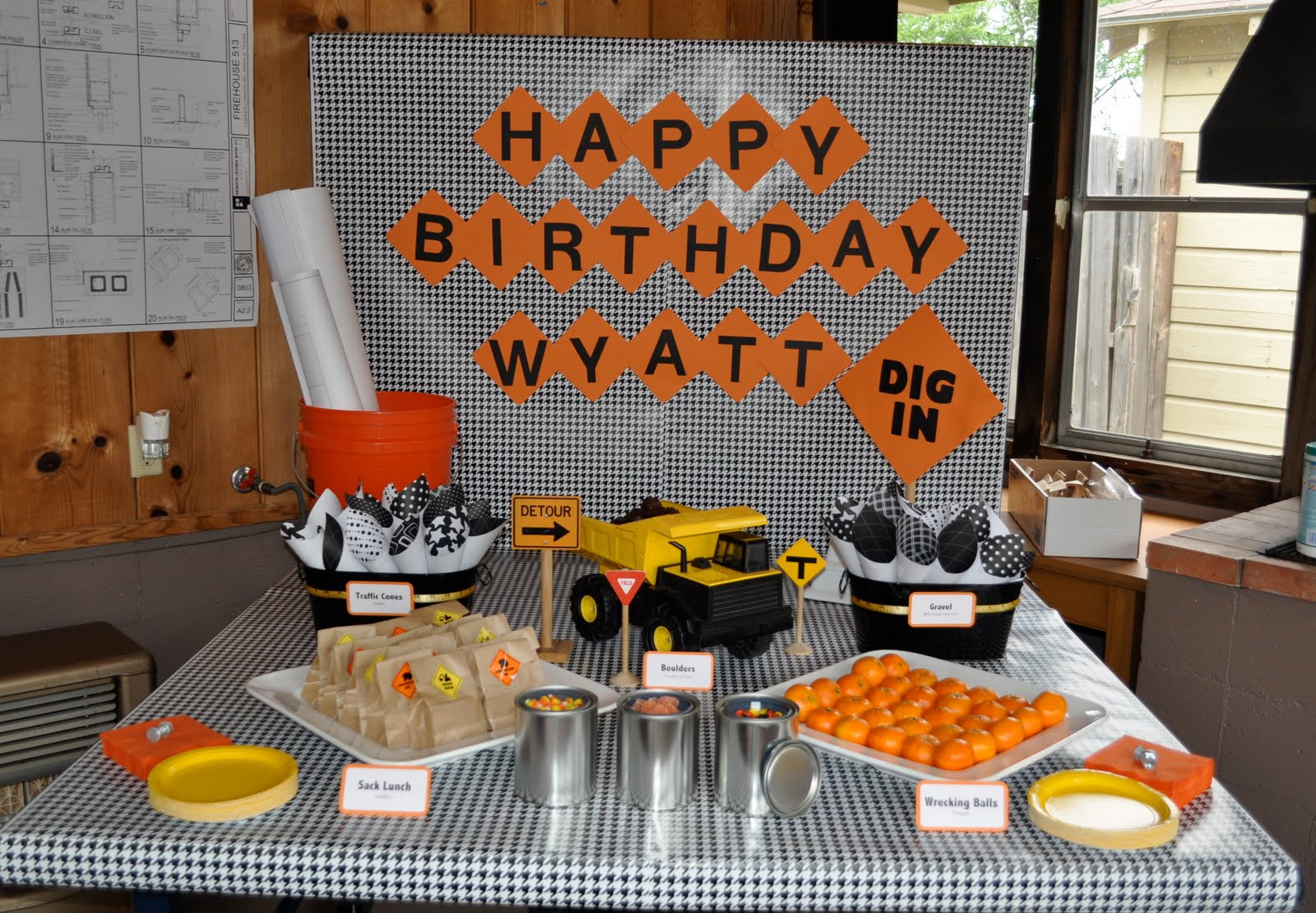 Construction Theme Kids Party Birthday Ideas In Ri