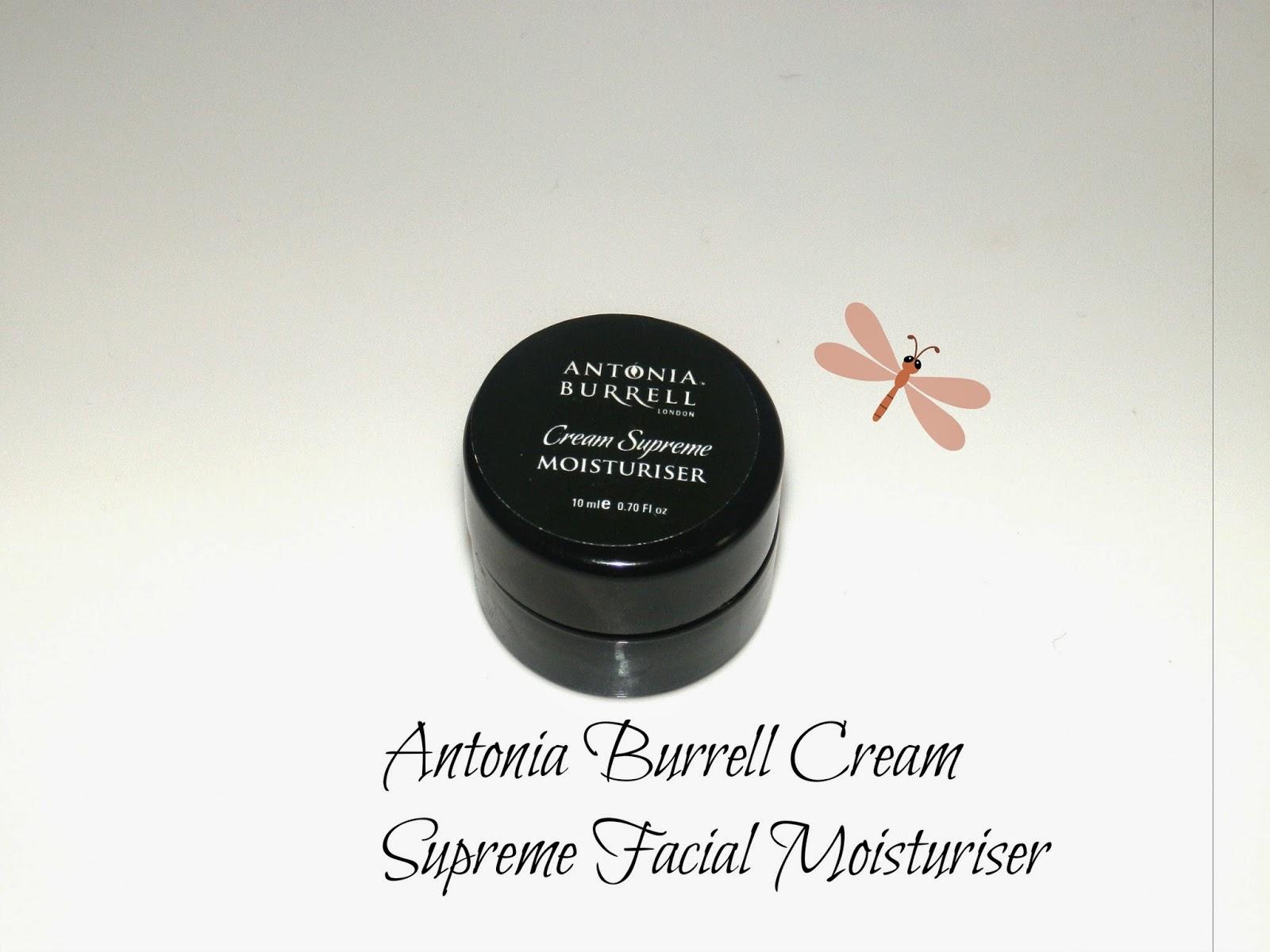 Antonia Burrell Cream Supreme Facial Moisturiser