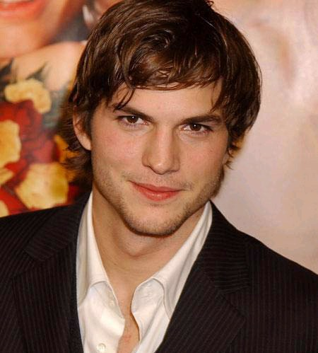 HairStyle for ashton kutcher fresh look