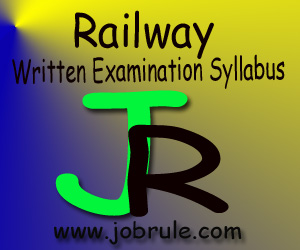 RRBs Ticket Collector (TC) & Commercial Clerk (CC) Written Examination Syllabus