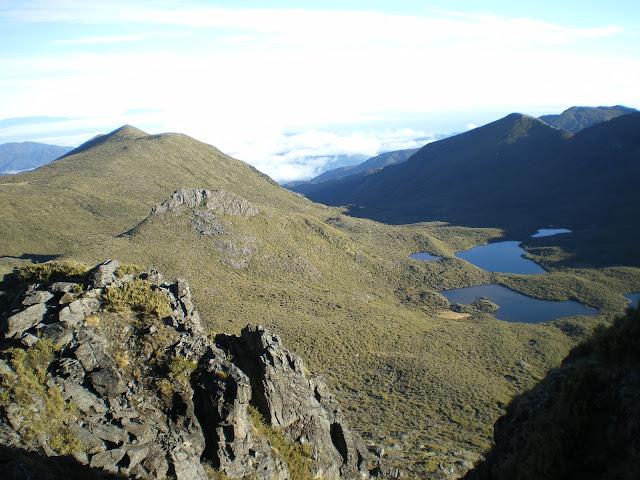 Vista del cerro Chirripó