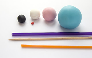 Material za izdelavo - material for making figure