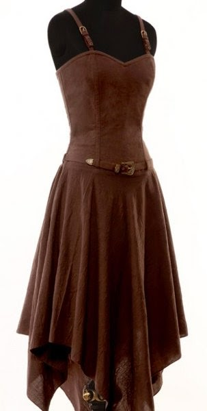 Very Beautiful, Lovely, Brown Dress.