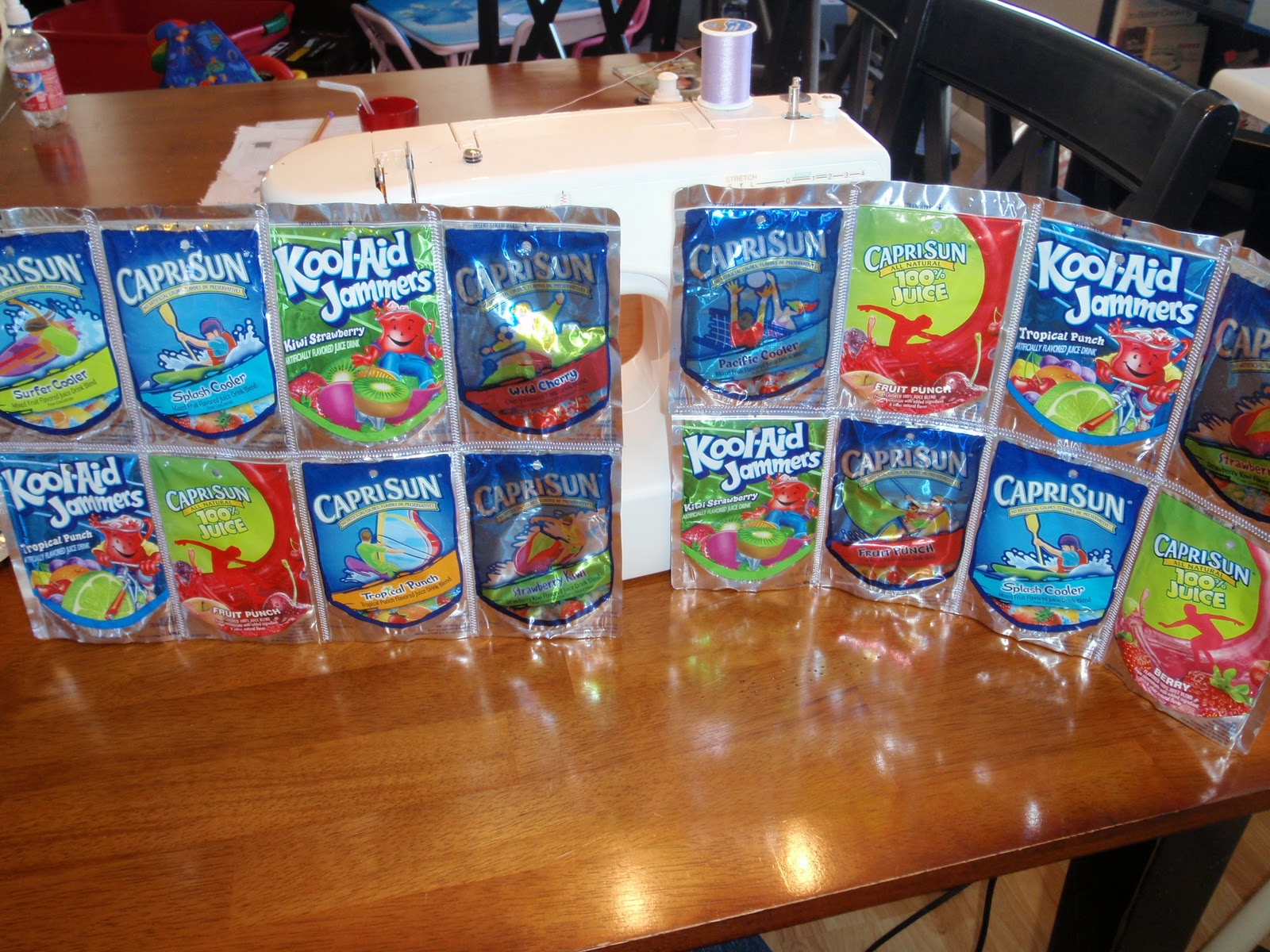 how to make capri sun bags