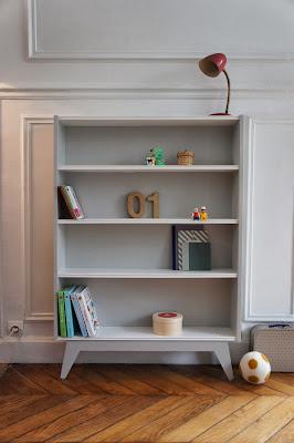 atelier petit toit biblioth que r alis e sur commande oct 13. Black Bedroom Furniture Sets. Home Design Ideas