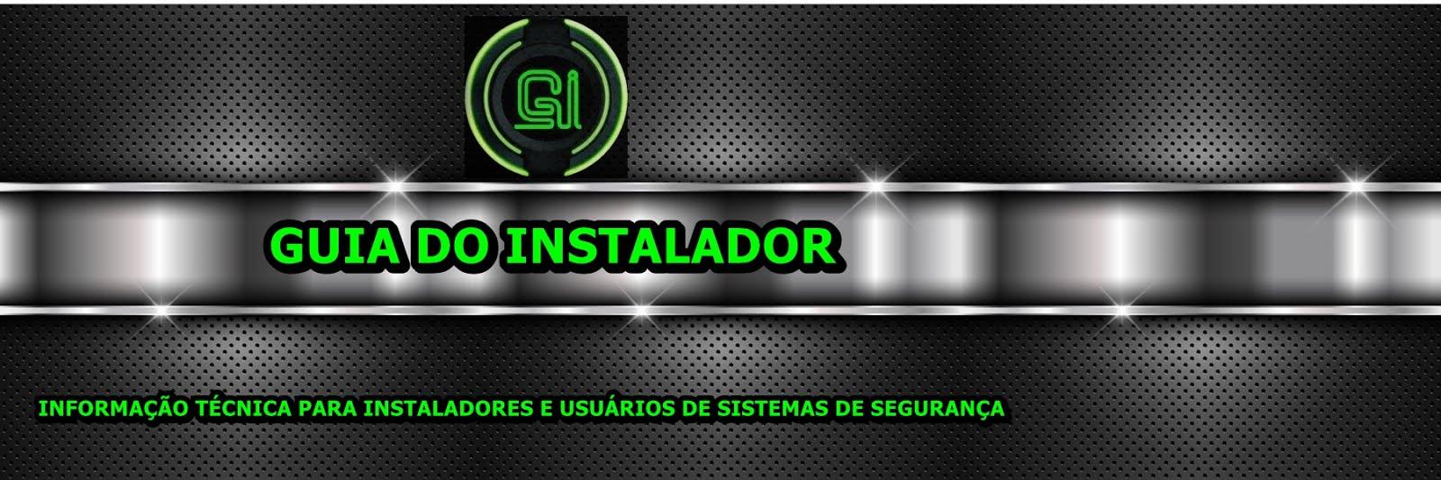 GUIA DO INSTALADOR