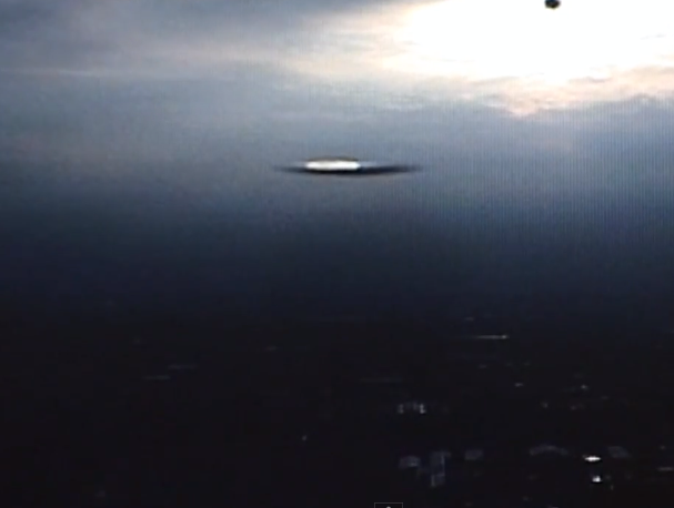 Clear Triangle UFO Caught On Live Cam Over Mexico City, UFO Sightings