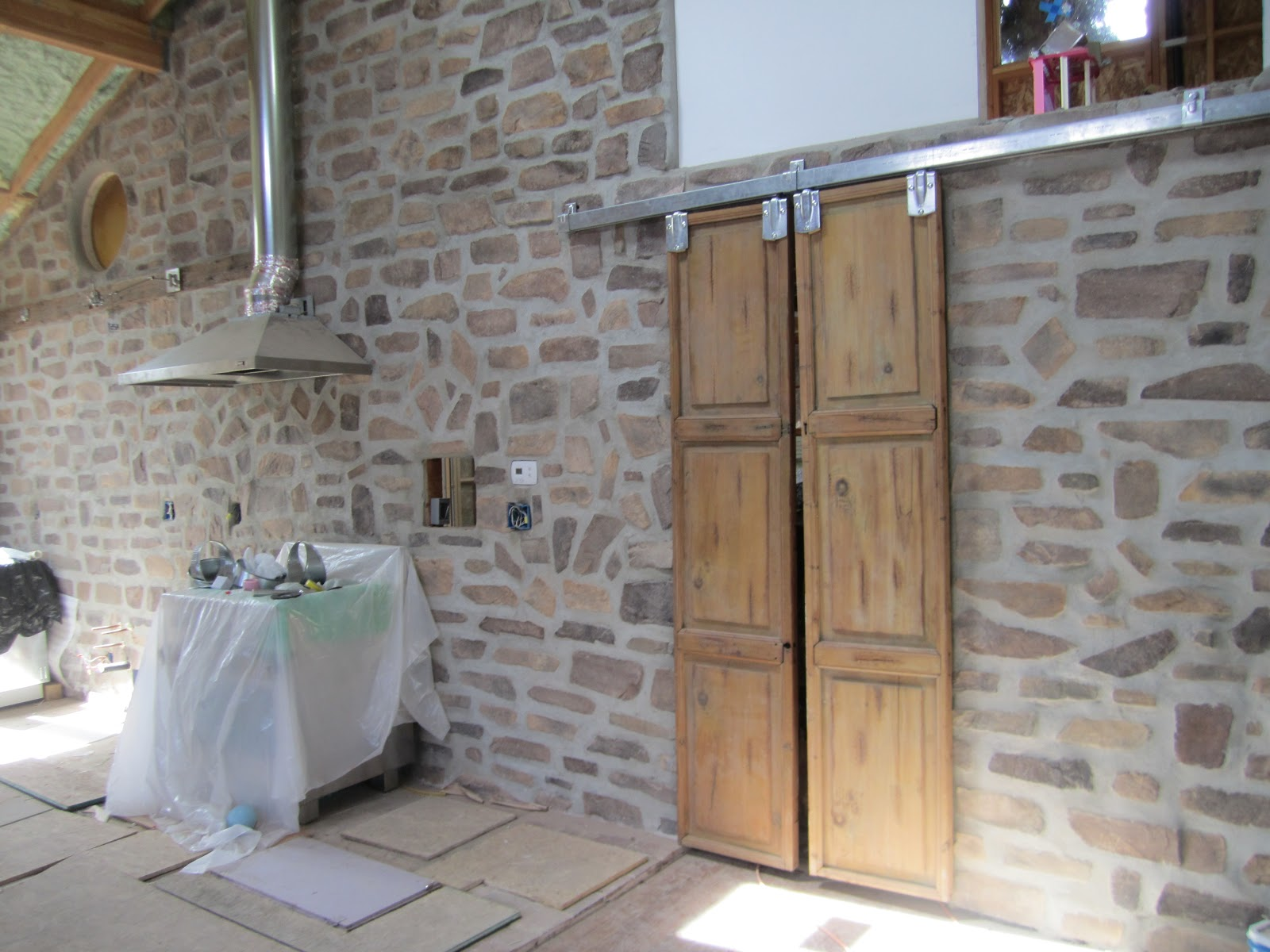 from purdue to provence: the beauty of barn doors (progress report)