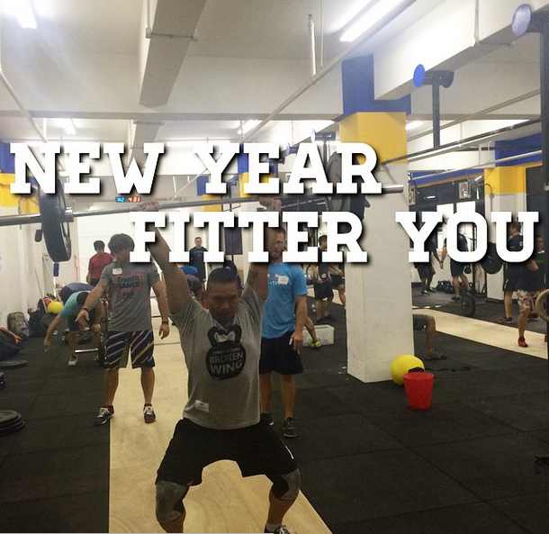 CrossFit Singapore New Year Resolution Fit Gym Innervate InnervateNow