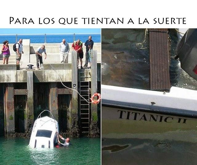 Tipos de barco - Titanic 2