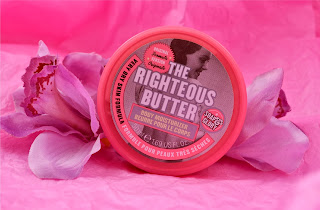 The Righteous butter - body butter - Boots - body lotion - scented body products - soap and glory -review - swatch