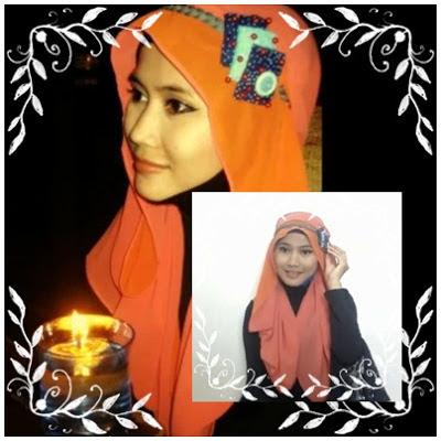Tutorial hijab Untuk Wanita Hanya Dengan Seutas Tali