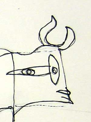 rumriver art center art projects for homeschoolers picasso bull