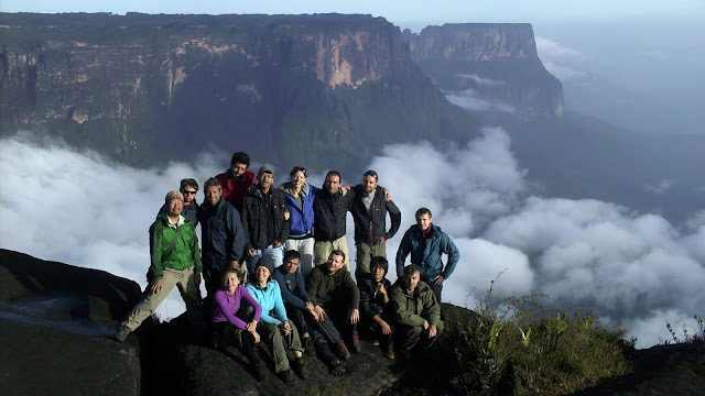 Mount Roraima where the challenge