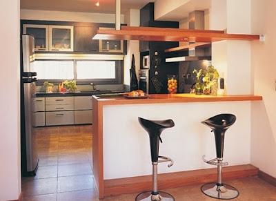 cocina barra lateral