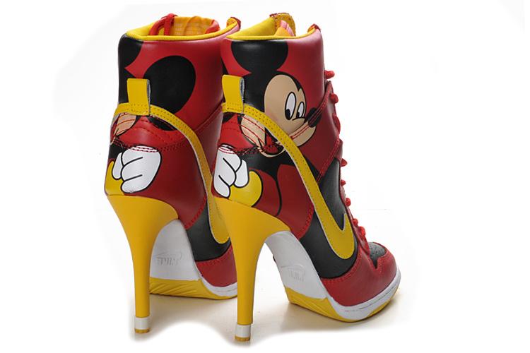 mickey mouse high heels mickey mouse high heels nike dunk