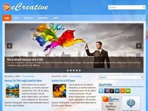 eCreative - Free Wordpress Theme