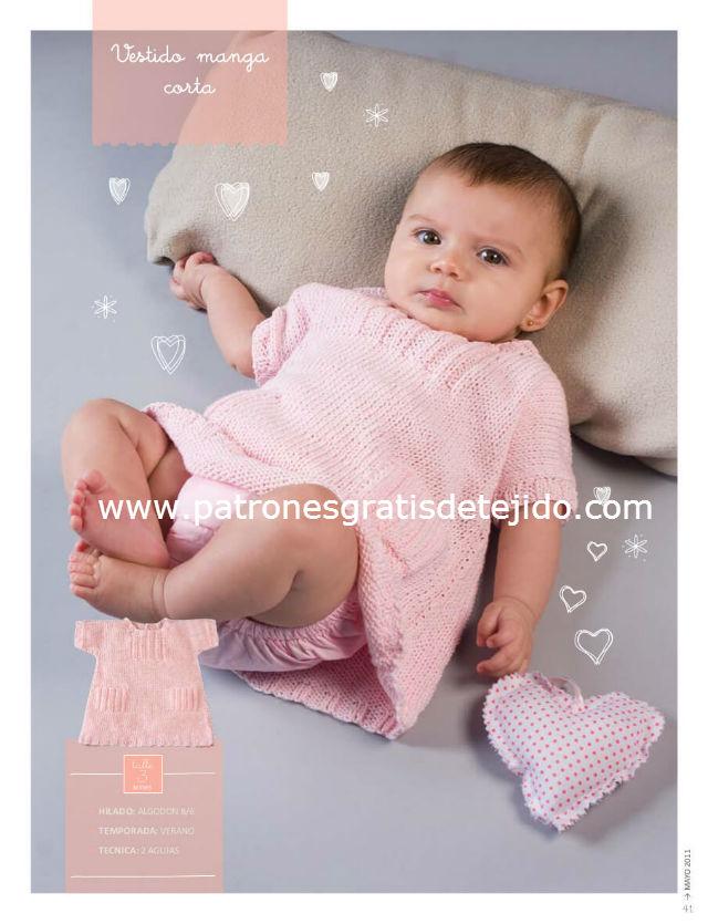 Детское вязание от 0 до 6 месяцами 456