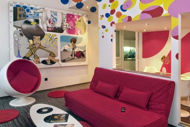 Heteruf designs decoraci n estilo kitsch pop art - Decoracion pop art ...
