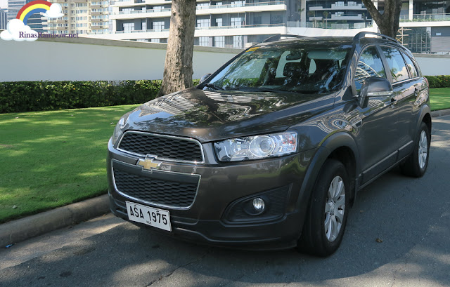 Chevrolet Captiva Brown