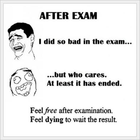 exam, final exam