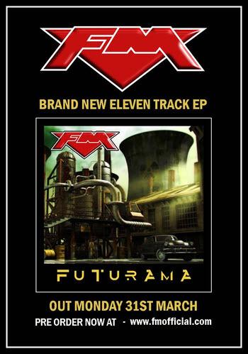 FM EP - Futurama pre-order poster