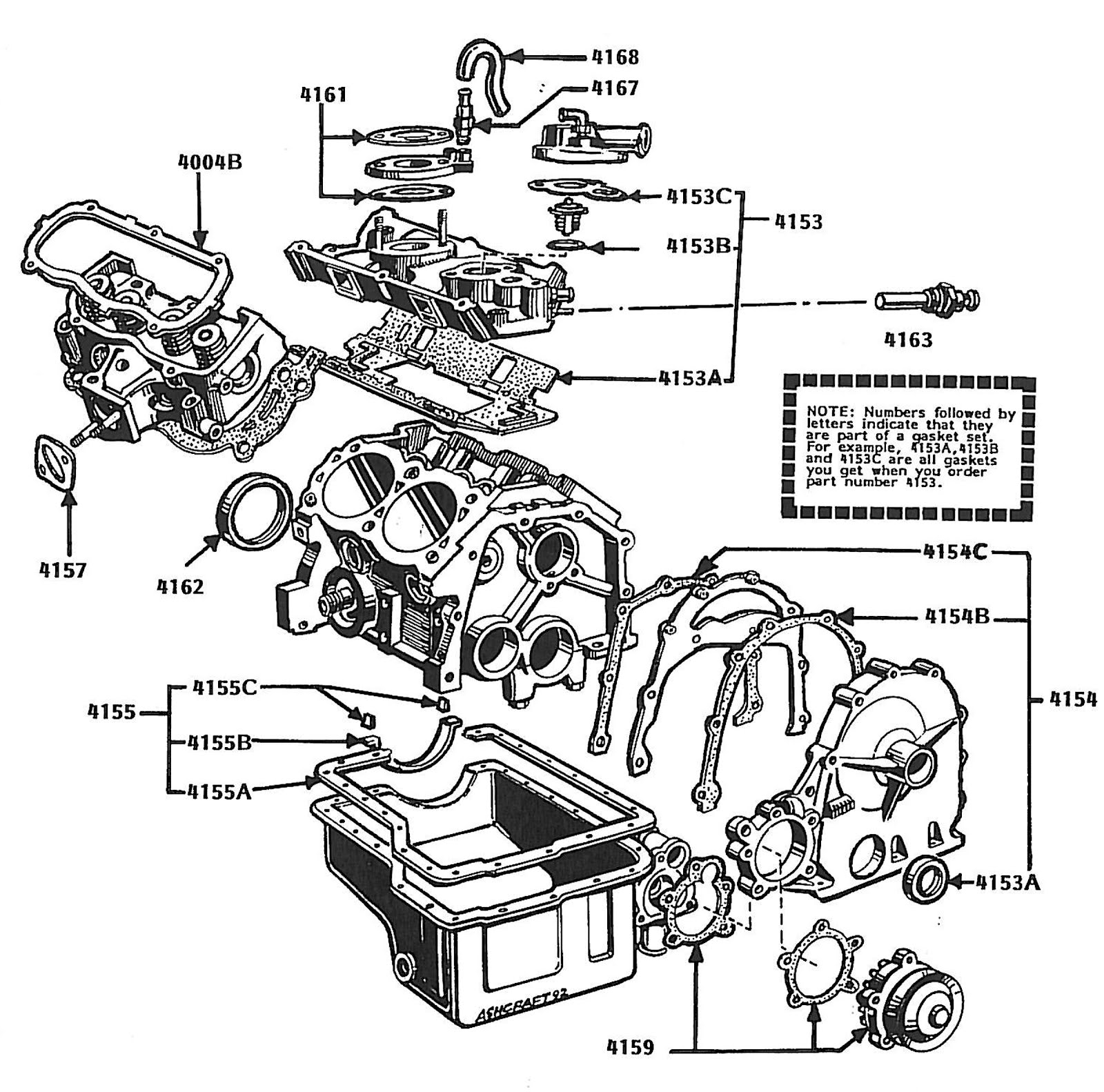 V4 Engine Diagram