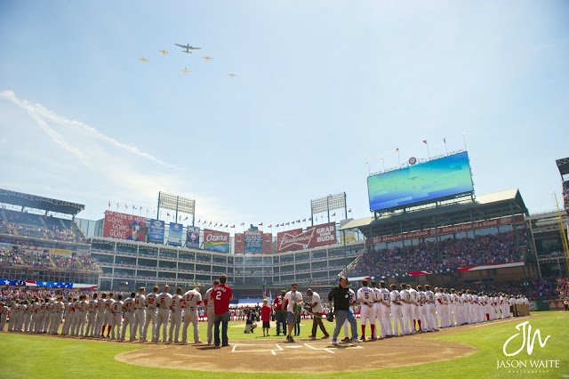 ceremonial fly over